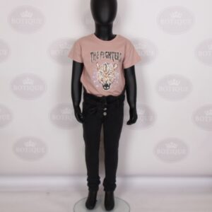 Sara Skinny Jeans Zwart