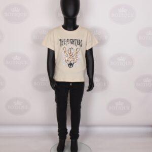 Eva T-shirt Beige