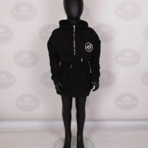 Tess Sweater Dress Zwart
