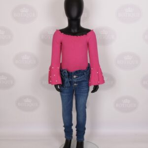 Nora Pearl Top Roze