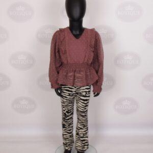 Milou Flair Broek Zebra