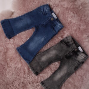 Baby – Rosa Flared Jeans Grijs